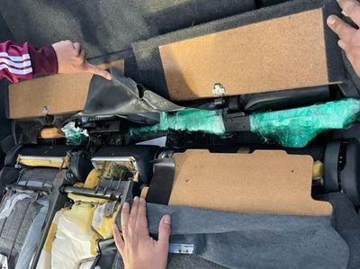 Aduanas detectó el ingreso ilegal de armas de fuego en inspección de rutina
