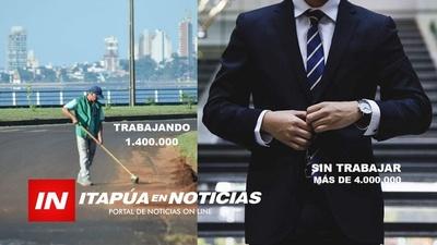 MIENTRAS HUMILDES BARRENDEROS GANAN 1.400.000, HABÍA FUNCIONARIOS QUE SIN TRABAJAR GANABAN MÁS DE GS. 4 MILLONES.
