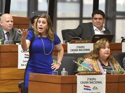 """Deuda de Itaipú; """"El Ministerio Público debería estar ya investigando"""", advierte Kattya González – Prensa 5"""