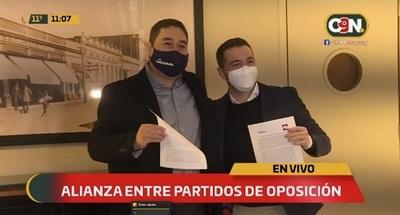 Nakayama y García concretan alianza para ganar en Asunción