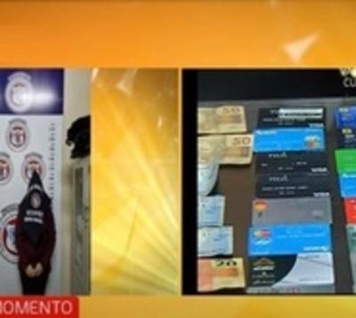 Caen brasileños, supuestos clonadores de tarjetas