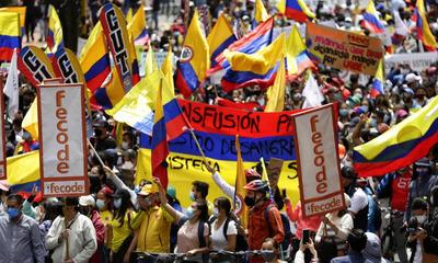 Colombia vive una nueva jornada de manifestaciones