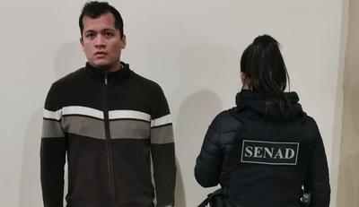 SENAD capturó en Ciudad del Este a brasileño buscado por la justicia