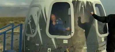 Así es como Jeff Bezos, el hombre más rico del mundo, alcanzó su sueño de alcanzar el espacio