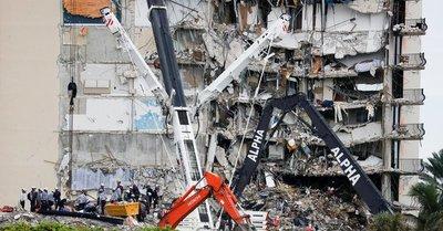 Tragedia en Miami: investigación comenzará cuando los equipos de búsqueda hayan terminado su trabajo