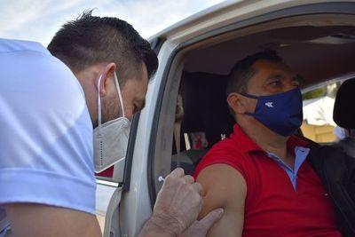 Poca concurrencia en los vacunatorios de Villarrica