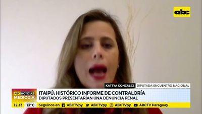 Itaipú: Diputados presentarían denuncia penal contra traidores de la patria