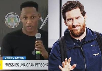 """Mina habla sobre el """"bailá ahora"""" de Messi"""