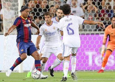 El Madrid gana al Barça espectacular 'clásico' entre leyendas en Israel