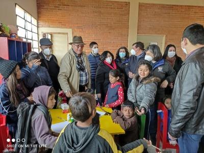 Habilitan centro de atención a la primera infancia para comunidad indígena de Repatriación