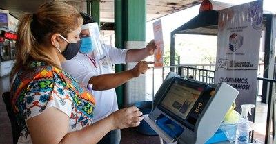 La Nación / Elecciones municipales: TSJE adjudica números y colores a ser aplicados en las máquinas de votación