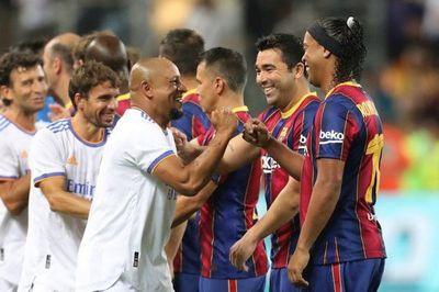 El Real Madrid vence al Barça en clásico de leyendas