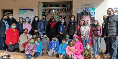 Programa Abrazo habilitó varias mejoras en la sede de Caaguazú