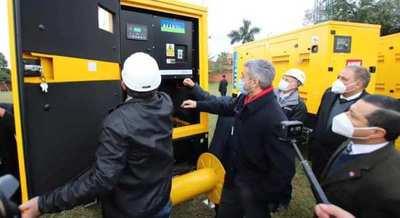 La Ande incorpora nuevos equipos de energía para garantizar servicios en vacunatorios y hospitales