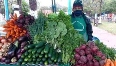 MAG desarrolló feria de frutillas, tomates y hortalizas en Concepción
