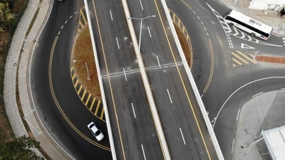 Corredor Vial Botánico implementa turborrotondas en Sacramento y Artigas
