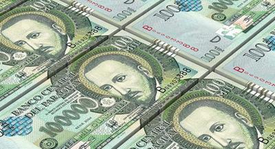 Hacienda ofertó Bonos por G. 180.000 millones en el mercado local