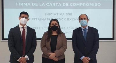La Bolsa de Asunción firma convenio para estimular la inversión sostenible