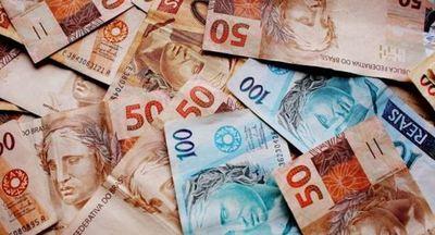 El Real Brasileño se hundió a un mínimo de 5,50 unidades por dólar