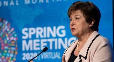 Kristalina Georgieva, dijo que el panorama económico mundial seguirá incierto debido a la pandemia