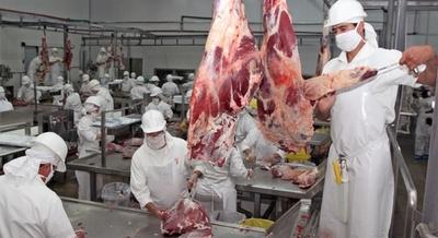 Exportación de carne alcanzó la cifra récord de 271.000 toneladas