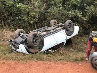 Intendente de Pilar involucrado en accidente de transito