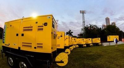 Salud recibió 12 generadores de energía que serán destinados a vacunatorios