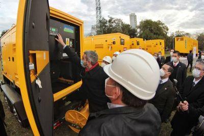 ANDE incorpora nuevos equipos para minimizar las interrupciones de energía eléctrica