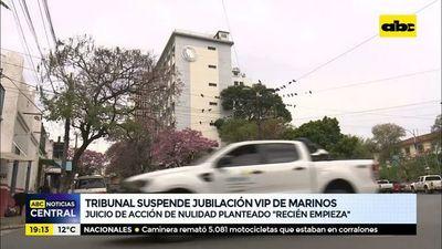 Tribunal suspende jubilación VIP de marinos