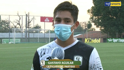 Gustavo Aguilar, figura de Tacuary