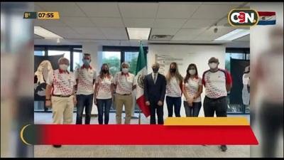 Inmunizan a delegación paraguaya rumbo a Tokyo 2020