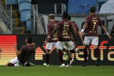 Con 'Totín' Amarilla, Liga de Quito sorprende a Grêmio y lo saca de la Sudamericana