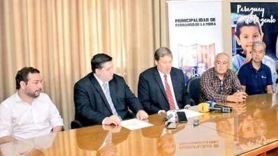 Obras de alcantarillado sanitario en Fernando de la Mora no tendrá costo para los frentistas