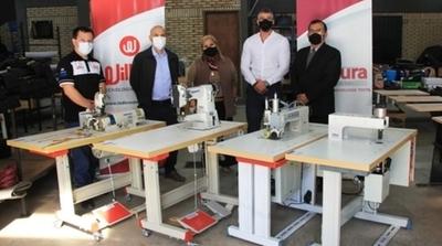 Mipyme recibió maquinarias que ayudarán al aumento de la producción