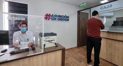 La Municipalidad de Asunción habilitó  punto de cobranza en Superseis Total