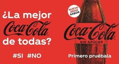 Coca-Cola presenta la nueva versión y renovada