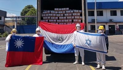 Athena Foods envía el primer cargamento de carne kosher a Taiwán