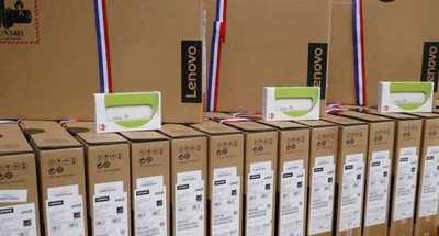 MEC recibe 590 notebooks con conectividad por parte de CONATEL