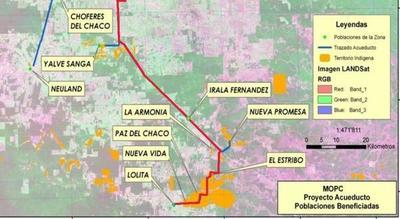En histórica jornada, el acueducto llega hasta la comunidad de Lolita en el Chaco