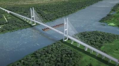 DNCP publicó el llamado a licitación del Puente Carmelo Peralta-Puerto Murtinho