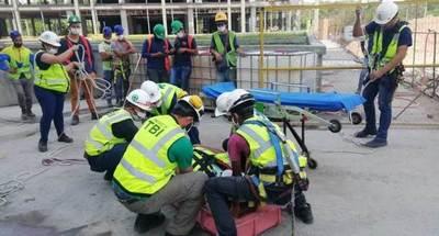 Técnicos de las Oficinas de Gobierno se capacitaron en rescates y emergencias