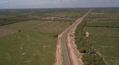 Inauguran acceso pavimentado a la ciudad de Loma Plata