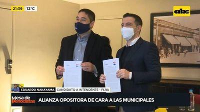 Alianza opositora de cara a las municipales