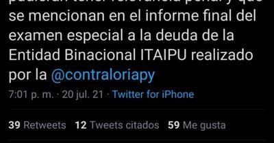 La Nación / Investigarán supuesta deuda ilegal de la Itaipú