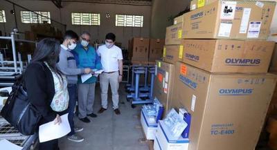 ITAIPU dona al Ministerio de Salud dos generadores de electrocirugía de última generación