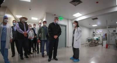 Hospital de Pedro Juan Caballero inauguró oficialmente terapia intensiva, con inversiones de ITAIPU