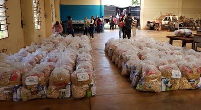 ITAIPU entregó más de 88.000 kg de alimentos para ollas populares en el Alto Paraná