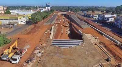 Construcción del Multiviaducto de Ciudad del Este presenta un avance del 40%