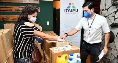 ITAIPU contribuye con acciones del Gobierno para reforzar el control sanitario fronterizo