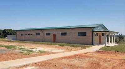 Habilitan mejoras edilicias en el Colegio Agromecánico de Itacurubí del Rosario